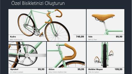 3D katalog şablonunun kavramsal görüntüsü