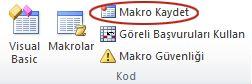 Makro Kaydet
