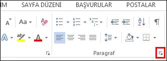 Word Paragraph Dialog Box