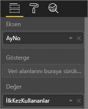 Özelleştirilmiş görselleştirme değerlerini gösteren ekran görüntüsü