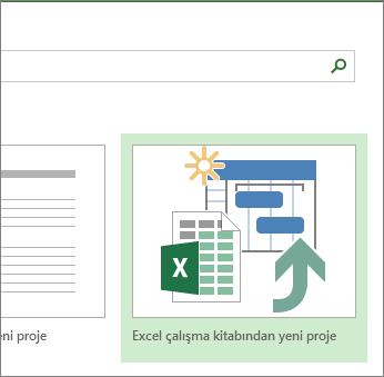 Excel çalışma kitabı şablonu