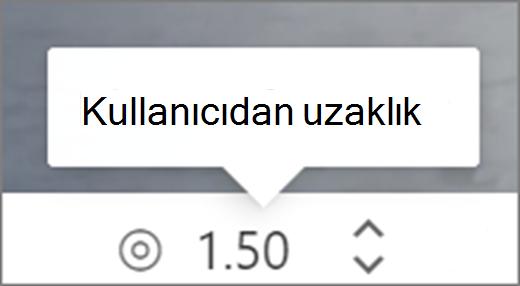 Kullanıcı Kullanıcı ARABIRIMINDEN uzaklık