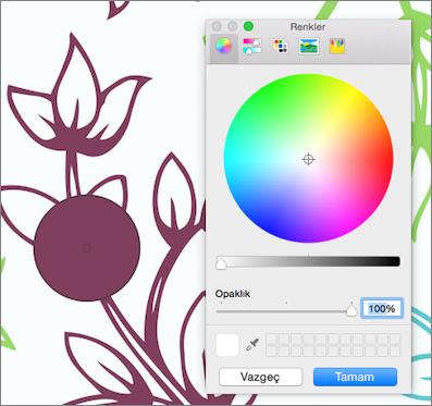 Renk damlalığı Renkli Önizleme