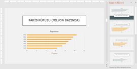 Grafik tasarım fikirleri öneren PowerPoint Tasarımcısı
