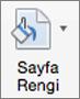 Sayfa rengi düğmesi