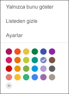 Google takviminden Ayarlar'ı seçin.