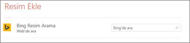 Bing Görüntü Arama Kutusu