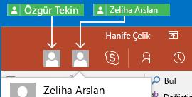 Android için PowerPoint'te gerçek zamanlı işbirliği yapma