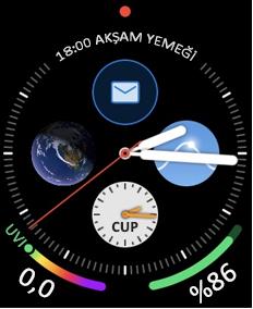 E-posta simgesiyle Apple gözcü