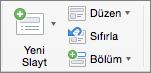 Yeni Slayt Mac için PowerPoint
