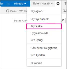 uygulama ekleme (liste, kitaplık)