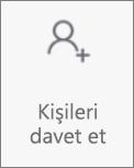 Android için gelen kutusunda kişileri davet et düğmesi