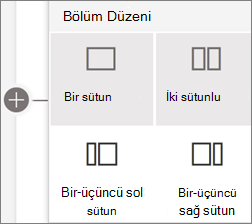 Bölüm düzenleri