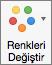 Grafik Tasarımı sekmesinde Renkleri Değiştir'i seçin