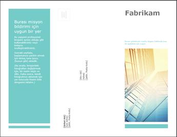 PowerPoint Online'da broşür şablonu