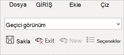 Excel'de Sayfa görünümünü gösterir