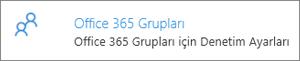 Office 365 grupları