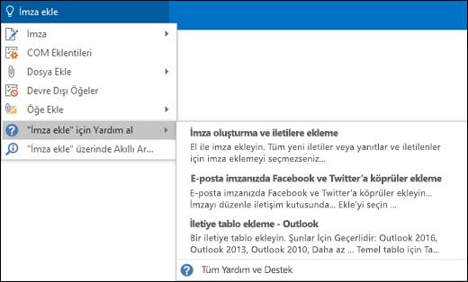 Outlook'ta Göster kutusuna ne yapmak istediğinizi yazın; Göster özelliği bu görevde size yardımcı olacaktır