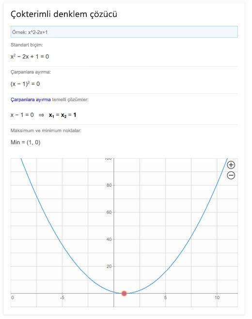 Bing polinom çözücü