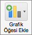 Grafik Tasarımı sekmesinde Grafik Öğesi Ekle'yi seçin