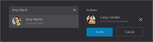 Arama ve katılımcılar ekleme