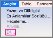 Outlook Web App uygulamanızın dilini ayarlayın ve dilediğinizde klasörleri yeniden adlandırın
