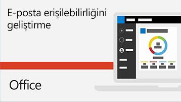 E-posta erişilebilirliğini geliştirme hakkında video.