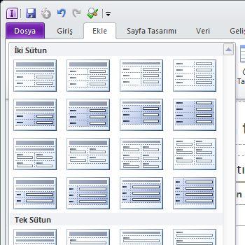 InfoPath 2010 formunu düzenleme