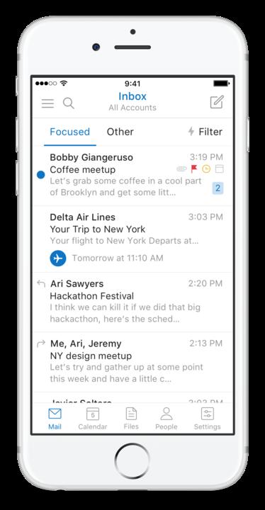 iOS'taki etkinlikler