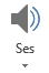 PowerPoint'te kaydı sekmesindeki ses düğmesi