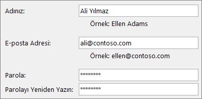 Çalışanlara Yönelik Hızlı Başlangıç: Outlook e-posta hesabı oluşturma