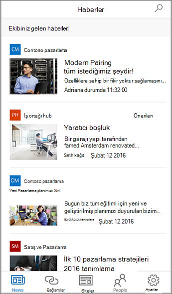 Derlenmiş Ekip Haberleri Ekran Görüntüsü