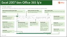 Excel 2007'den Office 365'e geçiş kılavuzuna ait küçük resim