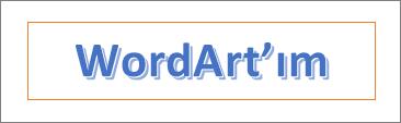 WordArt örneği