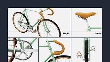 Özel bisiklet elektronik tablonuzu oluşturun