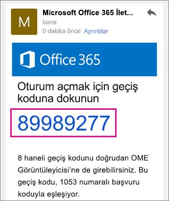 Gmail 4 ile OME Görüntüleyicisi