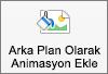 Mac için PowerPoint resim biçimi sekmesinde arka plan düğmesi olarak animasyon gösterir