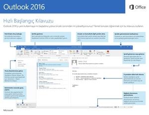 Outlook 2016 Hızlı Başlangıç Kılavuzu (Windows)