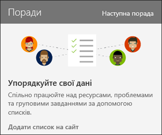 SharePoint Online сайту використання поради