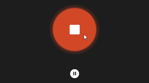 Кнопка «Зупинити»