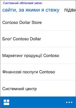 iOS стеження сайтів