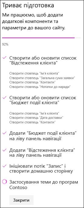 Сайт групи зі статусом спеціального макета