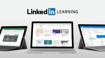 Безкоштовна ознайомлювальна версія навчальних курсів LinkedIn