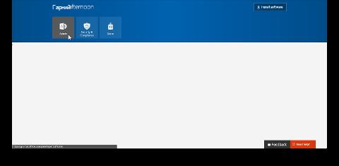 "Знімок екрана: плитка ""Адміністратор"" на порталі Office 365"
