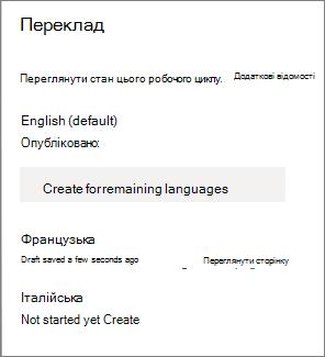 Стан перекладу