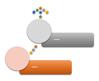 Макет рисунка SmartArt ''Акцентований процес зі зсунутими рисунками''