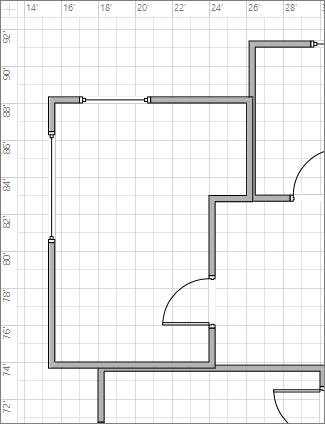 Сітка, до інтервалів якої застосований параметр ''Дрібний''
