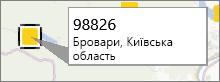 """Зауваження """"Поштовий індекс"""" у надбудові PowerMap"""