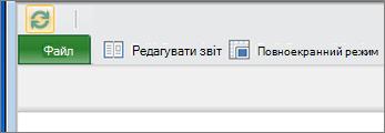 Кнопка дозволу редагування в надбудові Power View для служби SharePoint