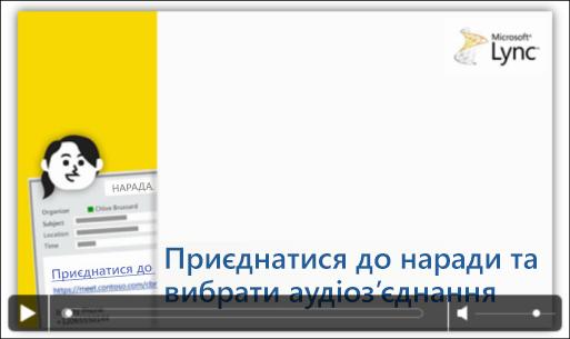 Знімок екрана: слайд PowerPoint з елементами керування відео